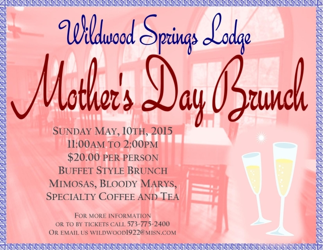 Mothers Day Brunch Special