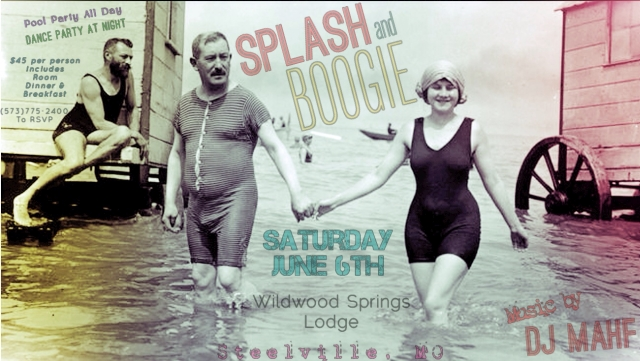 Splash and Boogie June 6th.